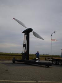 Wind-powered car goes down wind faster than the wind