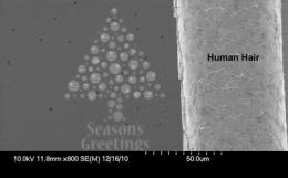World's smallest Christmas card produced by UG engineers