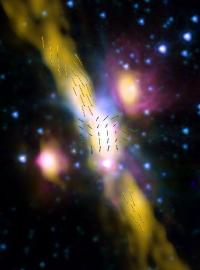 Young-star discovery hints magnetism common to all cosmic jets