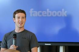 Zuckerberg said he found the Facebook movie interesting